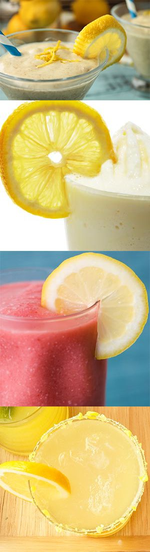 6 Awesome Healthy Lemon Smoothie Recipes for strengthening the immune system and cleansing the stomach.