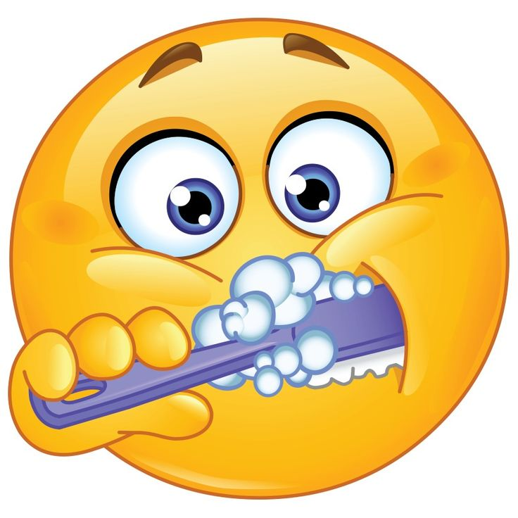 Zähne putzen früh und spät, jeder soll sich das zu Herzen nehmen! ⏳⌛