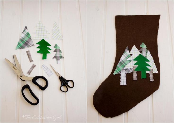 Diy Felt Christmas Stockings Christmas Pinterest