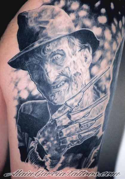 Traditional Freddy Krueger Tattoo Freddy krueger tattoo by