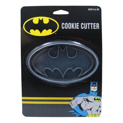 DC Comics Batman Logo Cookie Cutter Stamp