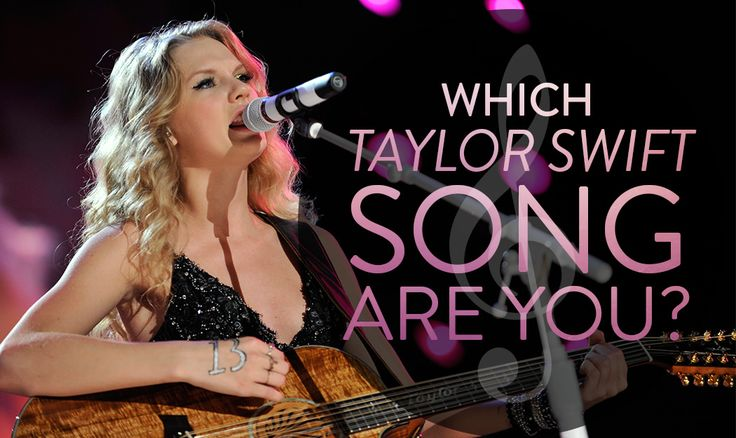 """Which Taylor Swift Song Are You? """"Begin Again"""" is about a sweet girl-- just like you! You always look for the best in everything-- just like Taylor."""