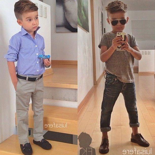 Little Boy Fade Haircuts 2015
