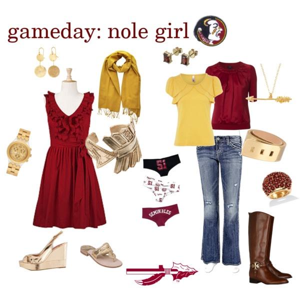 GO NOLES!: Florida States, Fsu Seminoles, Fashion Seminoles, Games Day Outfits, Outfits Ideas, Fashion Girls, Nole Girls, Gameday Fashion, Gameday Girls