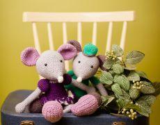 amigurumi mouse  Jucărie croșetată - Șoricel