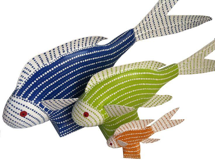 #African papier mache sculptures. Stunning handcrafted pieces