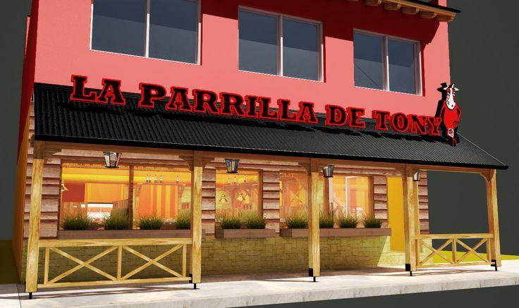La Parrilla de Tony, Bariloche, Patagonia Argentina.