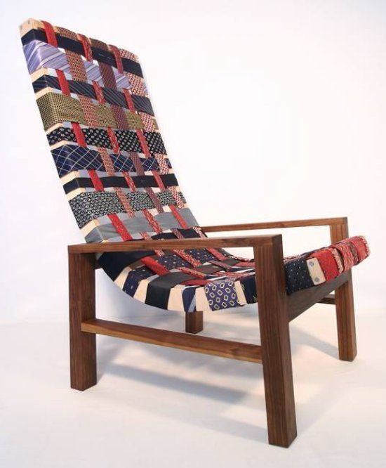 The Un-Tie #Chair.  This is cool.  There are others at this site that are crazier!!