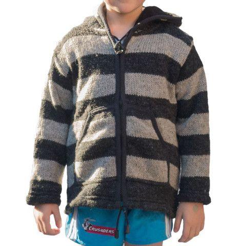 Wool Boys Jacket