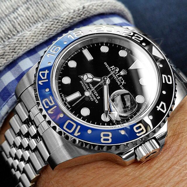 Rolex GMT Master II w/ jubilee bracelet. /// Founded 170 years ago, GOBBI 1842 is an official retail store for refined jewelleries and luxury watches such as Rolex in Milan. Check the website : http://www.gobbi1842.it/?lang=en - cheap mens dress watches, mens gold watches cheap, mens watches on women