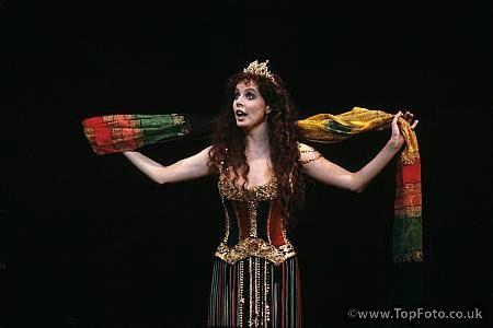 Christine, harem girl. (Played by Sarah Brightman.)