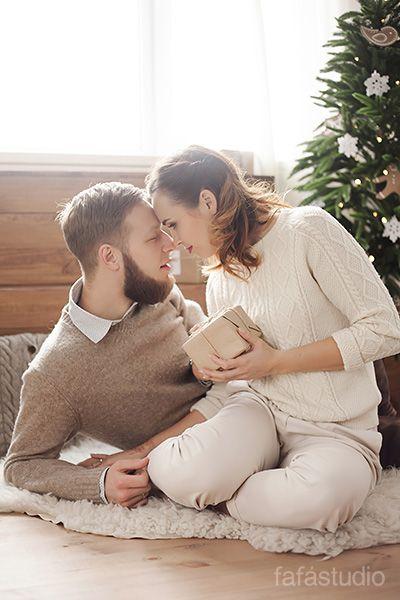 Новогодняя фотосессия от Fafastudio. Christmas couples photography. #Fafastudio #Photoshoot #Christmas #photography