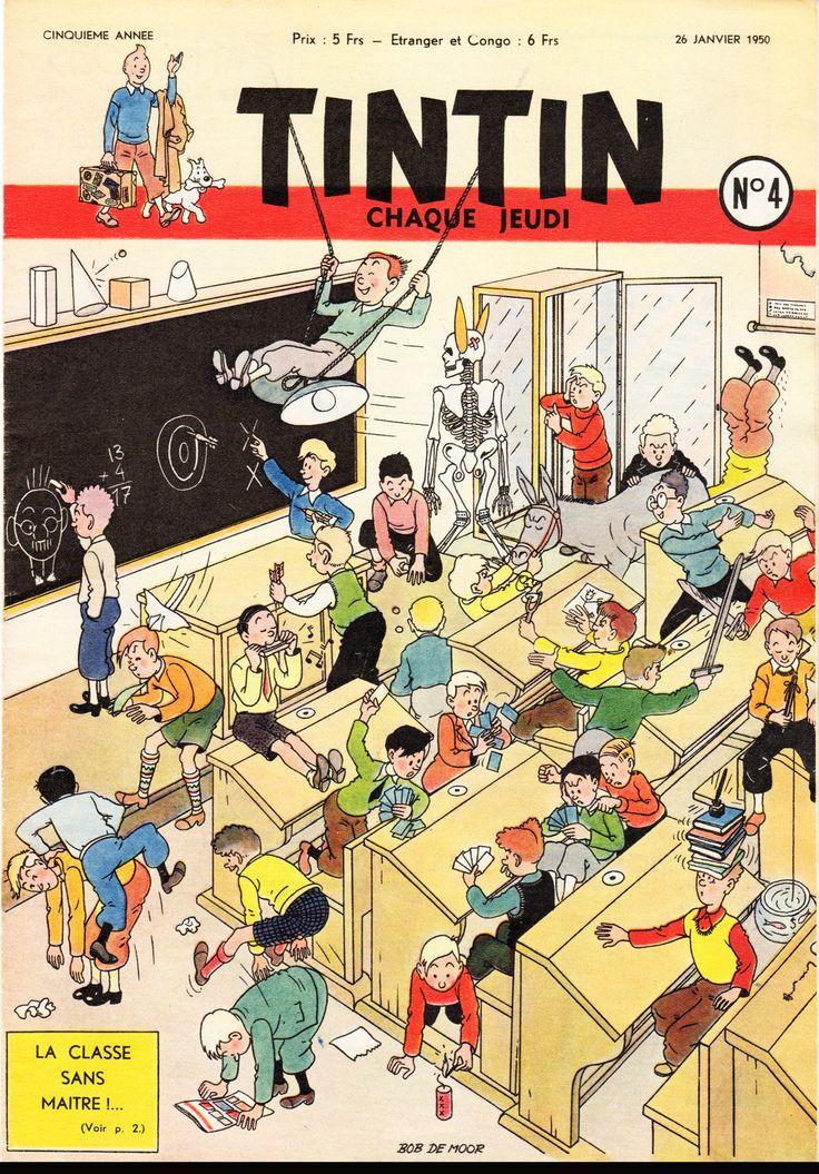 La classe sans maître (Bob De Moor)