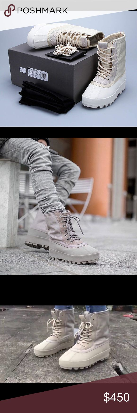 ISO!!! Will buy immediately :) YEEZY 950 Looking for a pair of Yeezy 950's. Been desperate but could never find my size for a great price. Looking for Turtle Dove, Moonrock, or Peyote. Size Women 8.5/9, or Men 7. 😊☺️ P.S. I've once been scammed over thes