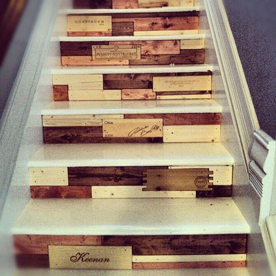 Wooden Pallet Stairs Ideas: 44 Best Aneka Kreasi Dari Palet Kayu Bekas Images On