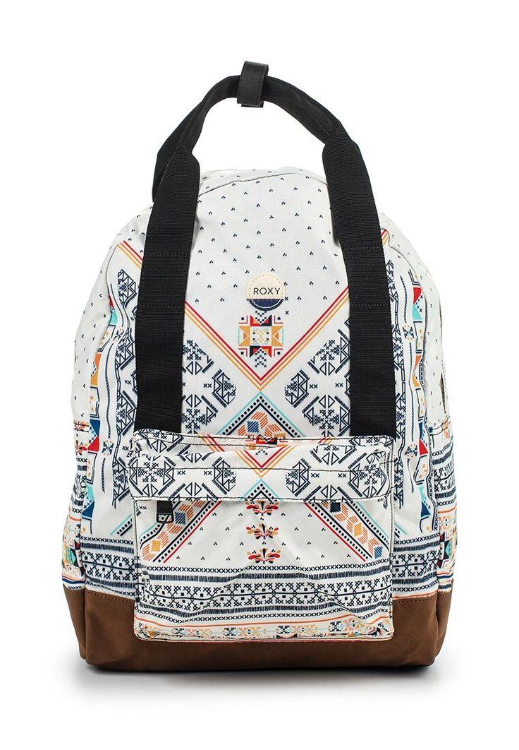 Рюкзак BY MY SIDE от Roxy выполнен из плотного текстиля. Детали: одно отделение на молнии, карман для ноутбука/планшета, застежка на двухходовую молнию, регулируемые лямки, объем 20 л.