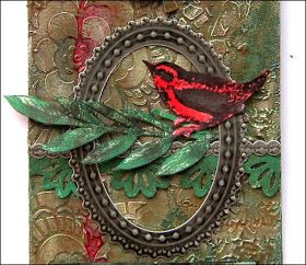 The Artistic Stamper Creative Team Blog: Rustic Tag by Shilpa