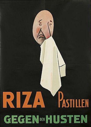Poster by Maga (Giuseppe Magagnoli), 1927, Riza Patilien. (I)