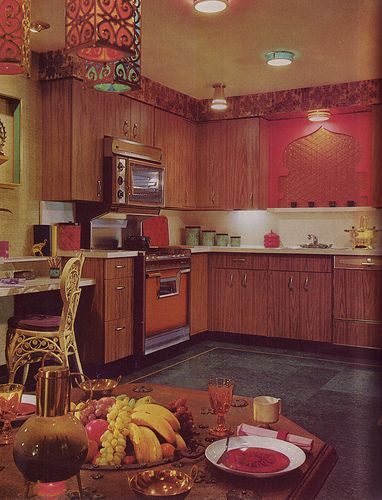 The Moorish Kitchen - Good Decorating and Home Improvement Published in 1970.