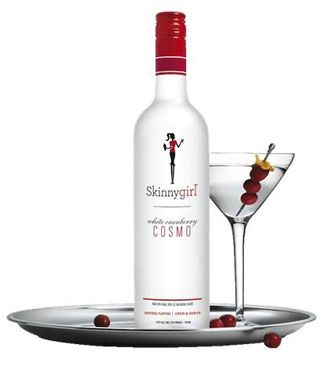 We served Skinnygirl White Cranberry Cosmo with a homemade cranberry simple syrup
