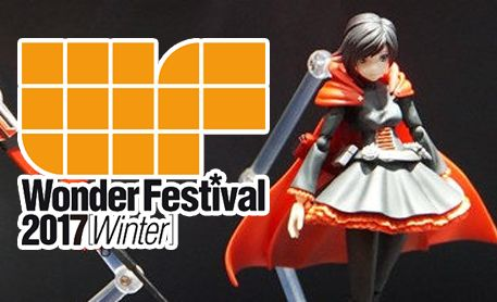 An Early Look At RWBY Figures From WonFes 2017