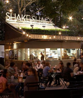 Shake Shack: Madison Square Park NYC. Best cheap burgers, fries and shakes. You can't go wrong here.