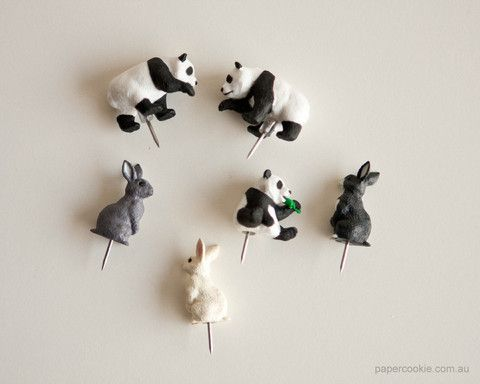 Animal Push Pins