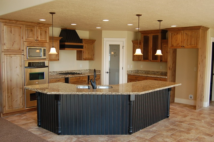 18 best ideas about kitchen layouts on pinterest pantry for Kitchen plans with island and pantry