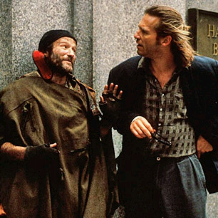 The Fisher King, Robin Williams and Jeff Bridges