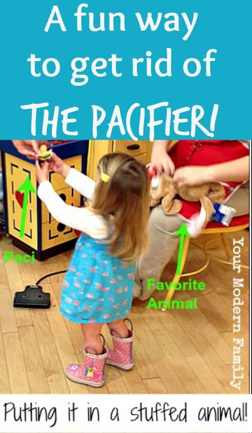 I love this idea for helping your child to give up their pacifier!  Its works the very first night!!
