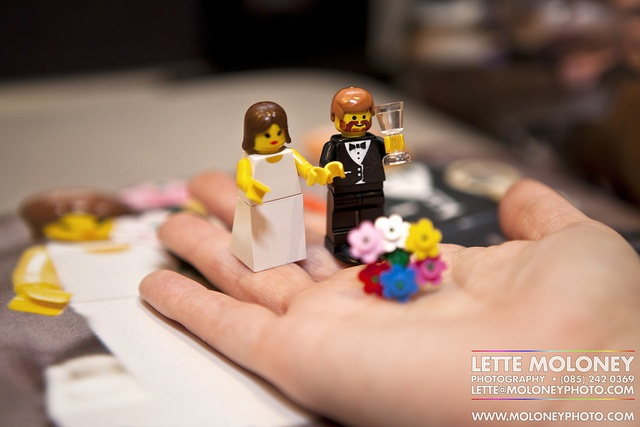 Married Lego Couple! By Lette Moloney © All Rights Reserved