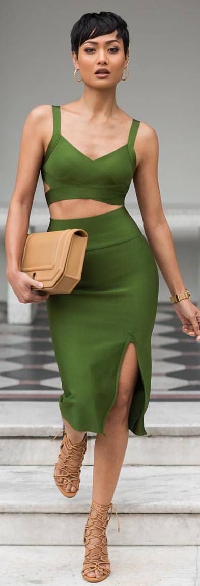 Mean Green Machine / Fashion By micah Gianneli