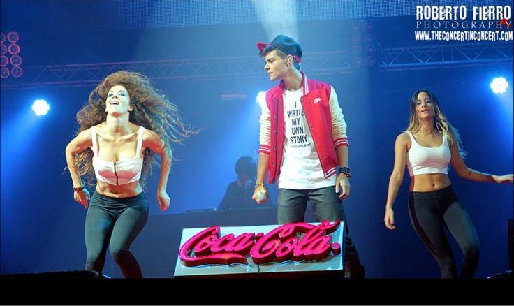 Abraham Mateo en el concierto de Coca Cola Music Experience  en Madrid ! :)