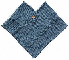 Free baby poncho pattern