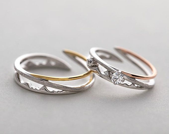 Wedding Band Set His and Hers Rings Promise Rings for Couples Wedding Ring Set Couple Rings His and Her Wedding Rings Promise Ring Set