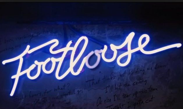 Closing night of footloose. I'm so proud of the cast. We have all worked so hard and it turned out so good. Love them all and I will miss working with them!
