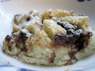 Kahlúa Bread Pudding from une gamine dans la cuisine