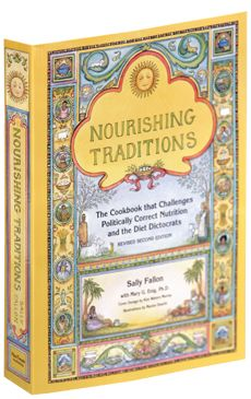 Nourishing Traditions- wonderful book with tons of herbal remedies and recipes to keep you healthy
