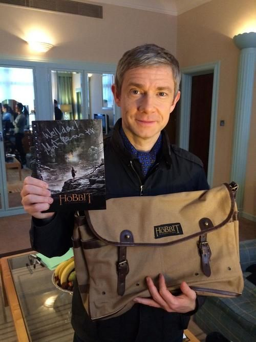 The adorable Martin Freeman.