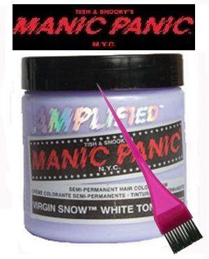 Manic Panic Amplified Hair Dye - Vegan Hair Dye - Virgin Snow andamp