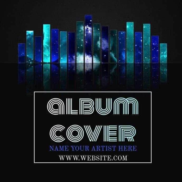 Music Album Cover Video Template Album Covers Album Cover Design Music Album Cover