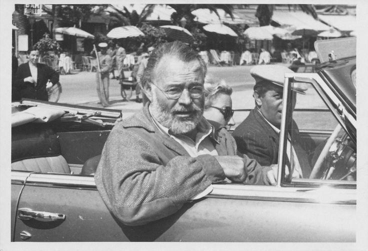 Ernest Hemingway a Rapallo negli anni '50 (Photo: Ugo Diotallevi) #Ernesthemingway #rapallo #liguria