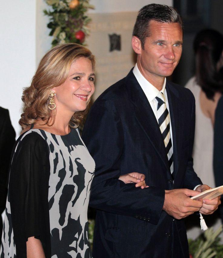 Infanta Cristina et son époux