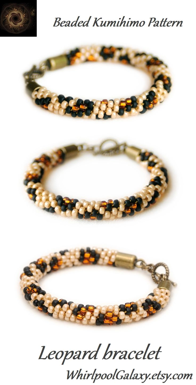 beaded kumihimo bracelet instructions