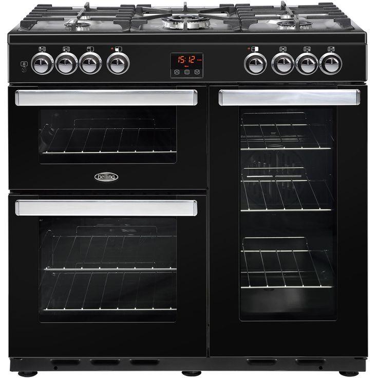 Cookcentre90DFT_Blk | Belling range cooker | ao.com