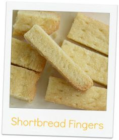 Catalina pece: Shortbread Fingers (Skotské máslové sušenky)