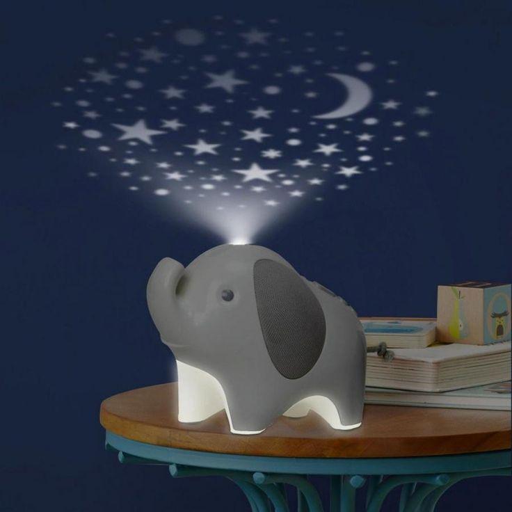 Skip Hop, Skip Hop Moonlight & Melodies Yövalo Elefantti, yövalot, lasten yövalot, lastenhuoneen sisustus, lasten lamput | Leikisti-verkkokauppa
