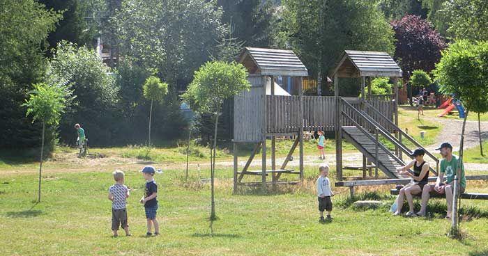 Frankrijk - Vogezen - Camping Les Trexons -veel kids speeltuin en mini zwembad