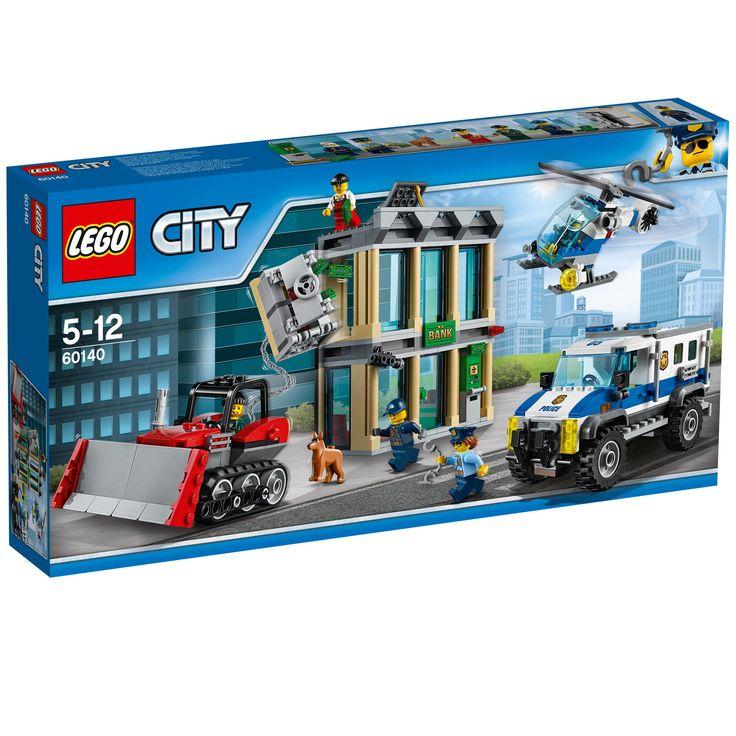 #Lego #LEGO® #60140   LEGO City Bankraub mit Planierraupe  Alter: 5-12, Teile: 561.    Hier klicken, um weiterzulesen.  Ihr Onlineshop in #Zürich #Bern #Basel #Genf #St.Gallen