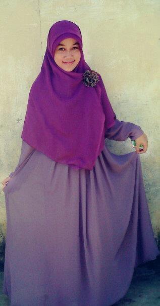 True Hijab | Syar'i | @chikarein: ini aku dengan #HijabAlila suka banget bajunya ^_^